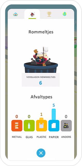 rommeltjes in de app